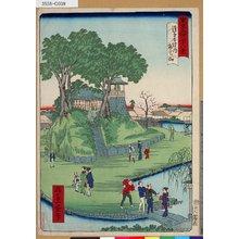 Ikkei: 「東京名所四十八景」 「浅草寺境内弁天山」「十八」 - Tokyo Metro Library