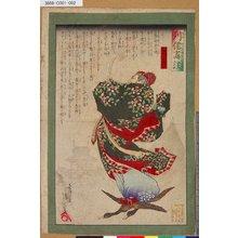 Kobayashi Kiyochika: 「列僊画註」 「王喬」 - Tokyo Metro Library