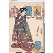 歌川国貞: 「八十番」「後徳大寺左大臣」 - 東京都立図書館