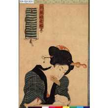 Utagawa Kunisada: 「誂織時世好」 - Tokyo Metro Library