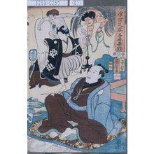 歌川国芳: 「浮世又平名画奇特」 - 東京都立図書館