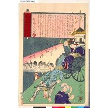 Kawanabe Kyosai: 「新説連画帖」 「二」 - Tokyo Metro Library