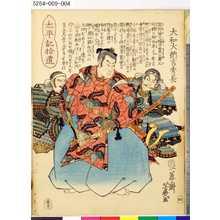 落合芳幾: 「太平記拾遺」 「四」「大和大納言秀長」 - 東京都立図書館