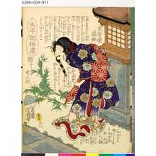 落合芳幾: 「太平記拾遺」 「十六」「光秀娘盛姫」 - 東京都立図書館