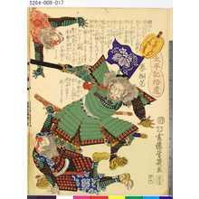 Ochiai Yoshiiku: 「太平記拾遺」 「二十九」「泰桐若」 - Tokyo Metro Library