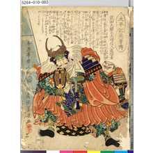 Ochiai Yoshiiku: 「太平記英勇伝」 「四」「武田大膳大夫晴信入道信玄」 - Tokyo Metro Library