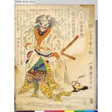 Ochiai Yoshiiku: 「太平記英勇伝」 「十三」「柴田修理進勝家」 - Tokyo Metro Library