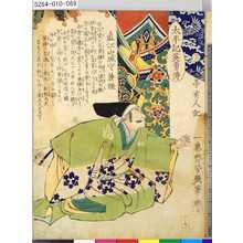 落合芳幾: 「太平記英勇伝」 「六十九」「直江山城守兼継」 - 東京都立図書館