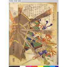 Ochiai Yoshiiku: 「太平記英勇伝」 「八十二」「後藤又兵衛基次」 - Tokyo Metro Library