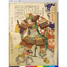 落合芳幾: 「太平記英勇伝」 「八十八」「小西摂津守行長」 - 東京都立図書館