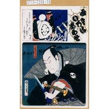 Toyohara Kunichika: 「み立いろはあはせ お」「十番組」「大星由良之助」 - Tokyo Metro Library