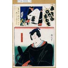 Toyohara Kunichika: 「み立いろはあはせ や」「五番組」「八声場相丞」 - Tokyo Metro Library
