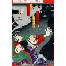 Morikawa Chikashige: 「大閉后 坂東喜知六」「頑☆臣 中村鶴蔵」「茂山顕三 市川左団次」 - Tokyo Metro Library