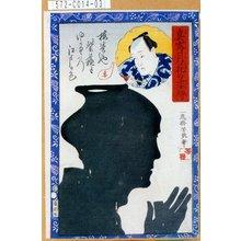 落合芳幾: 「真写月花の姿絵」 - 東京都立図書館