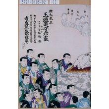 Unknown: 「燕枝」「魯文」「円朝」「国周」「勝三郎」 - Tokyo Metro Library