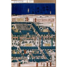 Yoshifuji: 「江都名所之内 猿若街之図」 - Tokyo Metro Library