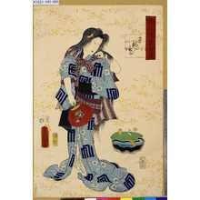 Utagawa Kunisada: 「源氏後集余情」 「末摘花」 - Tokyo Metro Library