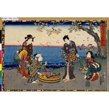 歌川国貞: 「其姿紫の写絵」 「十三」 - 東京都立図書館