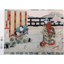 北英: 「しづか前 中村富十郎」「狐忠信 中村芝翫」 - 東京都立図書館