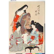Toyohara Chikanobu: 「時代かゞみ」 「附録」 - Tokyo Metro Library