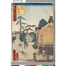 芳瀧: 「浪華百景」 「茨住吉」 - Tokyo Metro Library