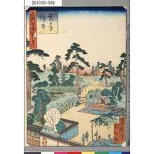 芳瀧: 「浪華百景」 「天王寺増井」 - Tokyo Metro Library