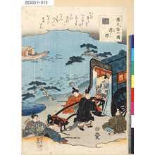 Utagawa Kunisada: 「源氏香の図」 「澪標」 - Tokyo Metro Library