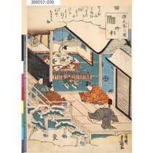 Utagawa Kunisada: 「源氏香の図」 「御幸」 - Tokyo Metro Library