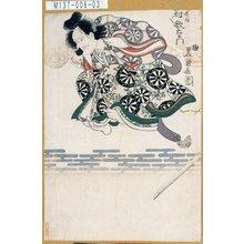 歌川豊国: 「忠信 中村歌右衛門」 - 東京都立図書館