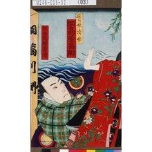 Morikawa Chikashige: 「庄司娘清姫 助高屋高助」「振り附 花柳寿輔」 - Tokyo Metro Library
