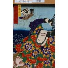 Morikawa Chikashige: 「礫喜平治 中村時蔵」 - Tokyo Metro Library