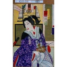幾英: 「金田の妾小勝 藤沢浅次郎」 - 東京都立図書館