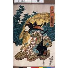 Utagawa Kunisada: 「磯貝娘おそで 岩井杜若」 - Tokyo Metro Library
