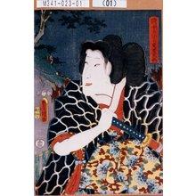 Utagawa Kunisada: 「賎ノ女すゞしろ 実若菜姫」 - Tokyo Metro Library