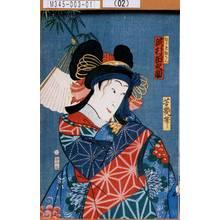Ochiai Yoshiiku: 「むすめ狂らん 沢村田之助」 - Tokyo Metro Library