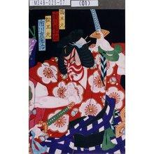 守川周重: 「梅王丸 市川団十郎」「松王丸 市川左団次」 - 東京都立図書館