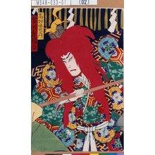 Morikawa Chikashige: 「高村伴左衛門 市川左団治」 - Tokyo Metro Library