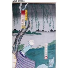 豊原周延: 「村井長庵 市川団十郎」 - 東京都立図書館