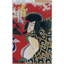 Morikawa Chikashige: 「墨染桜ノ精 尾上多賀之丞」 - Tokyo Metro Library