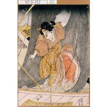 Utagawa Kunisada: 「芸者お弁 市川門之助」 - Tokyo Metro Library