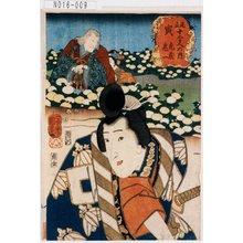 歌川国芳: 「見立十二支の内」 「寅」「虎蔵 鬼一」 - 東京都立図書館