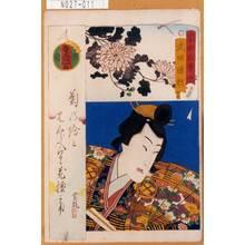 Utagawa Kunisada: 「当世自筆鏡」「武田勝頼」 - Tokyo Metro Library
