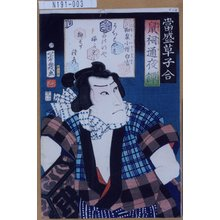 落合芳幾: 「当盛草子合」「鼠祠通夜譚」「和泉小僧白吉」 - 東京都立図書館