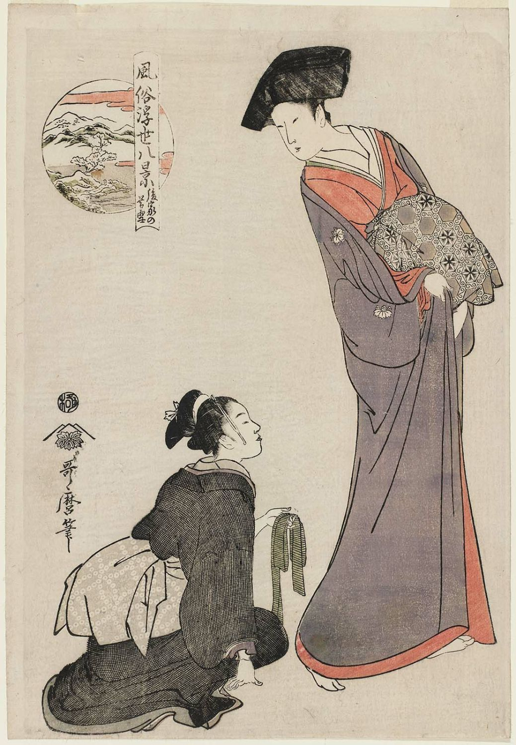 essays on kitagawa utamaro Ukiyo-e artists produced woodblock prints incorporating depictions of genre but it is also offers a visual essay in the way one kitagawa utamaro i.