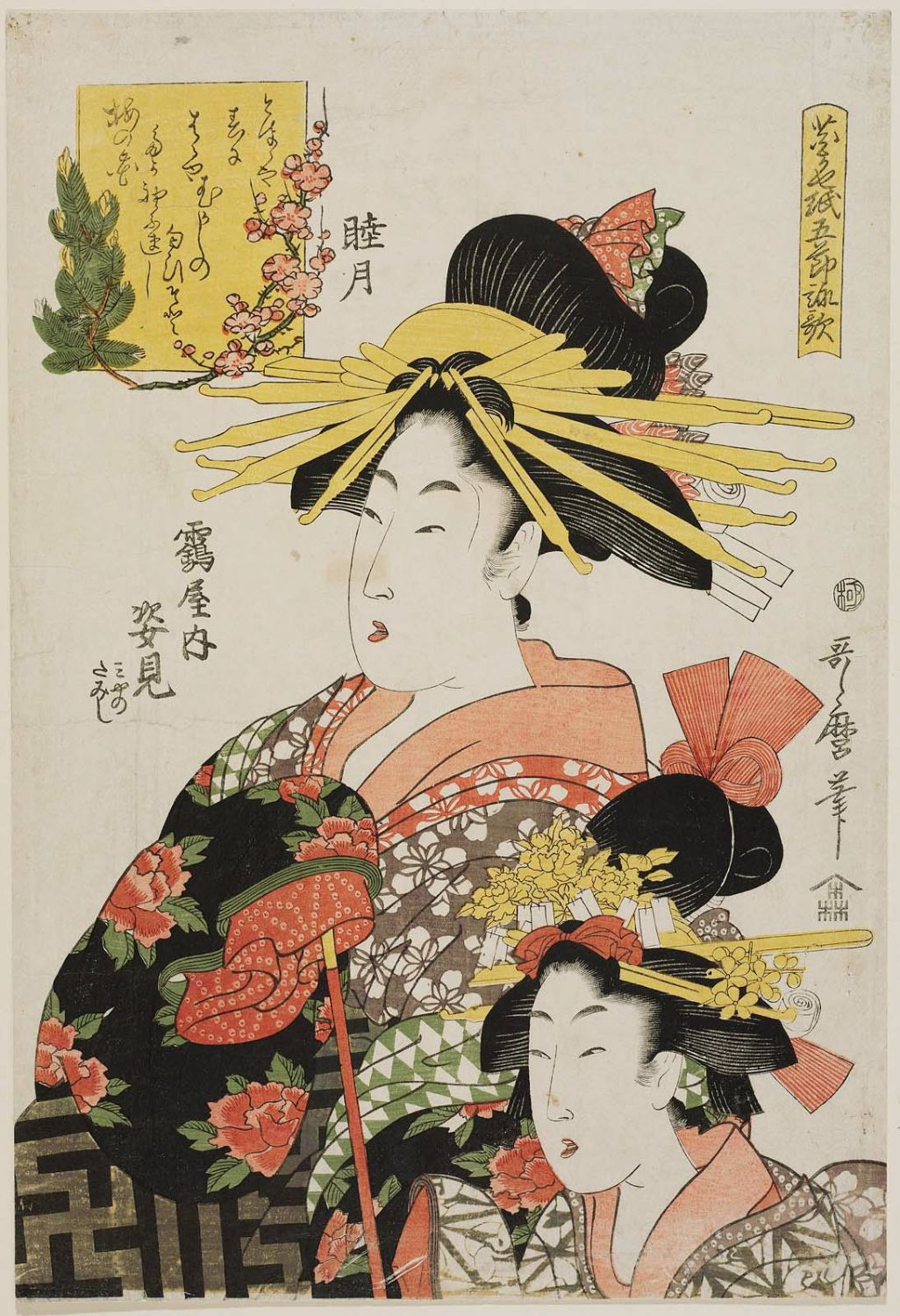essays on kitagawa utamaro View essay - short essaydocx from arh 2000 at university of south florida brielle manuel marta slaughter arh 2000 short essay the work that i chose is titled lady with a fan which was created by.
