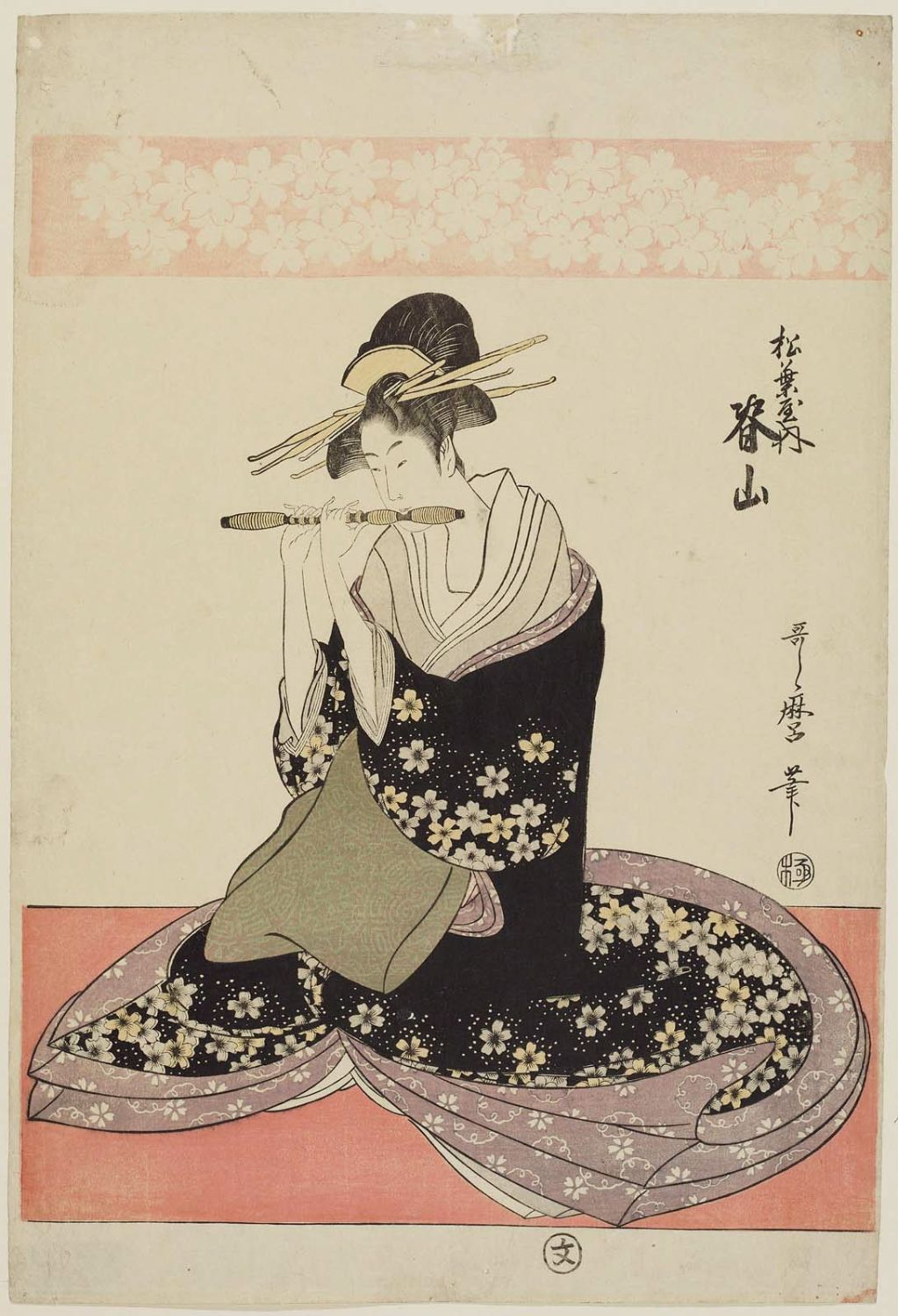essays on kitagawa utamaro Girl powdering her neck by 'girl powdering her neck' is a contemplation of a portrait of a geisha from one of the artist kitagawa utamaro's studies of.