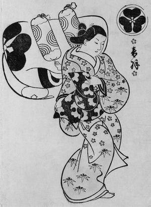 Okumura Masanobu: Otowa of the Chojiya - Museum of Fine Arts