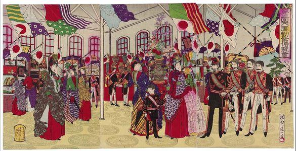 渡辺延一: The Third National Industrial Exposition (Daisankai Naikoku kangyô hakurankai) - ボストン美術館