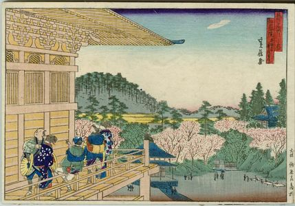 Hasegawa Sadanobu I: The Chion-in, from the series Famous Places in the Capital (Miyako meisho no uchi) - Museum of Fine Arts