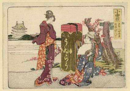 Katsushika Hokusai: Odawara, from an untitled series of the Fifty-three Stations of the Tôkaidô Road - Museum of Fine Arts